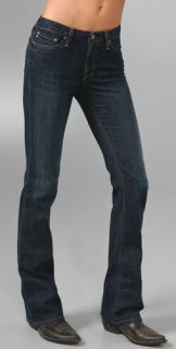 AG Adriano Goldschmied Angel Mid Rise Boot Cut Jeans