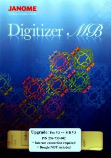 Janome Digitizer Pro to MB Embroidery Software Upgrade