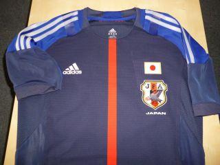 Japan ADIDAS 2012 football soccer TECHFIT shirt jersey 2XO NWT Kagawa