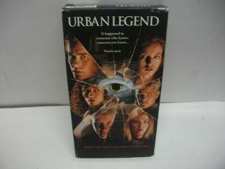 Urban Legend VHS Jared Leto Robert Englund Scary Movie