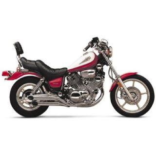 Jardine Rumbler Chrome 2 2 Full Exhaust Pipe Yamaha XV700 1000 1100