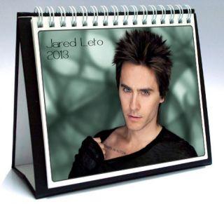 30 Seconds to Mars Jared Leto 2013 Desktop Holiday Calendar