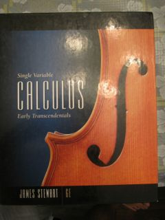 Variable Calculus Early Transcendentals by James Stewart 2007
