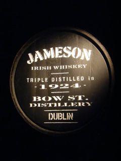 Jameson Irish Whiskey Promotional Poster Dublin
