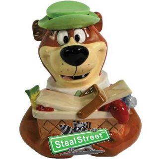 Yogi Bear And Basket Collectible Cartoon Cookie Jar Kitchen Décor