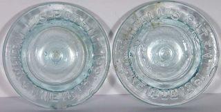 Fruit Jar Closure Millville Atmospheric Glass Lids 2