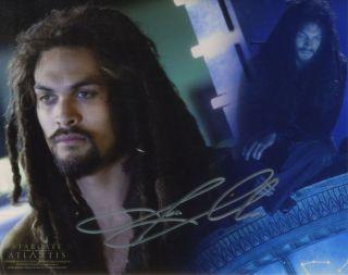 Stargate Atlantis Ronon Dex Jason Momoa Autograph Sale