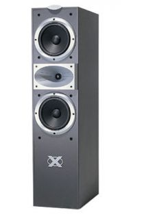 Jamo X550 2 way Tower Speaker w/ Dual 6 1/2 Woofers, 1 Dome Tweeter