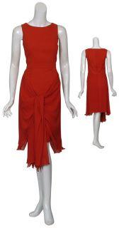 Jason Wu Sophisticated Draping Silk Chiffon Dress 6 New