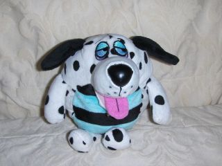 Stuffed Plush Dog Pup Barks Toy Dollymation Jay at Play Dalmation