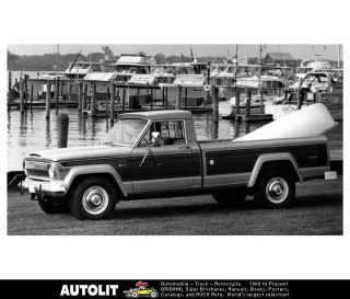 1976 Jeep J20 Pickup Truck Factory Photo