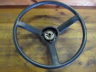 Jeep J20 J10 Steering Wheel No Cracks CJ YJ Wagoneer