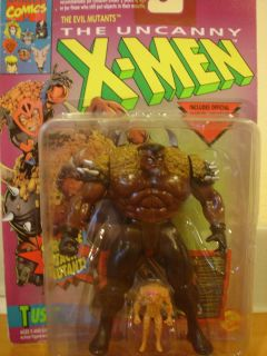 Marvel x Men Tusk Action Figure Toy Biz