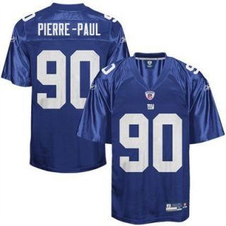 JASON PIERRE PAUL 90 NEW YORK GIANTS JERSEY BRAND NEW LARGE L 50 W NFL