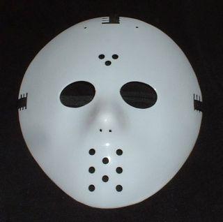 Mask Replica Retro Horror Jason Halloween Goalie Costume Prop