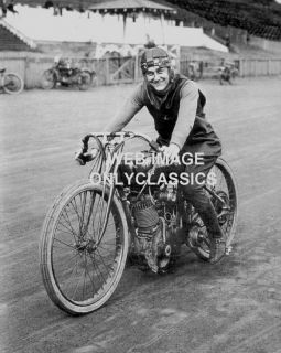 1919 Harley Davidson Motorcycle 1st Factory Racer Photo