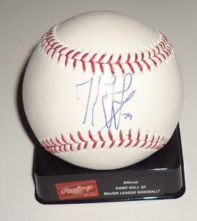 Kenley Jansen Signed OML Baseball La Dodgers w COA