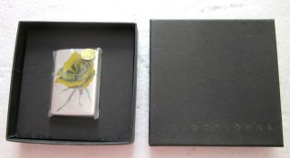 New Zippo JEANCOLONNA Red Rose Fashion Brand Super Rare Japan Limited