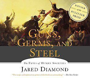 Guns Germs and Steel by Jared Diamond 5 CDs 1565115147