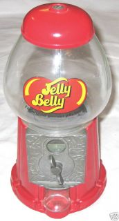 Red 9 5 Jelly Belly Vending Machine Gumball Bank