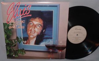 LP Elvis Presley Classic Love Ballads Quality Canada 86