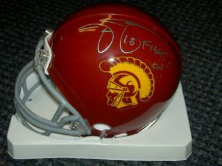 Jason Sehorn Autographed Signed Mini Helmet USC