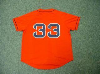 Jason Varitek Boston Red Sox Alternate Jersey Medium