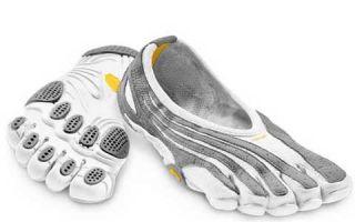 Vibram Fivefingers Jaya LR White Grey Womens Exercise Fitness Shoes