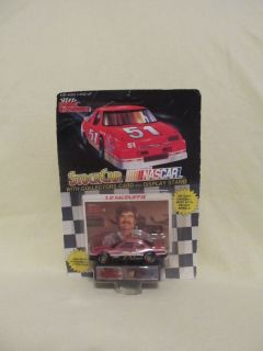 Racing Champions Stock Car Card J D McDuffie Die Cast