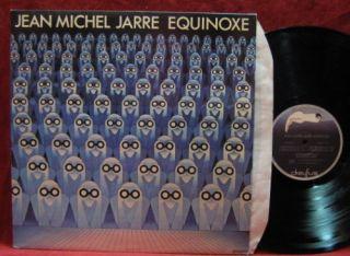 Jean Michel Jarre Equinoxe LP Vinyl Record Album France