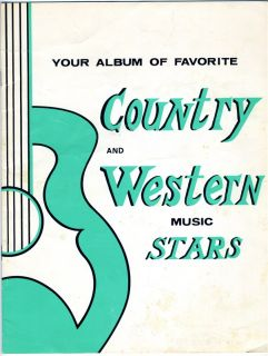 Western Music Stars Hap Peebles Booking Agent Porter Wagoner 1960s