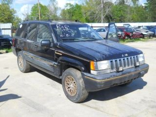 93 Jeep Grand Cherokee Left Front Door Electric