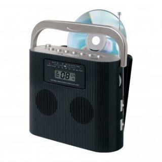 Jensen CD 470C Portable Stereo Compact Disc Player with Am FM Radio