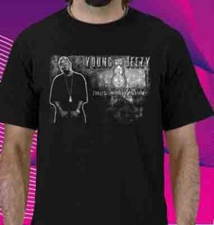 Young Jeezy Snowman Hip Hop T Shirt Size s M L XL 2XL 3XL 4XL 5XL
