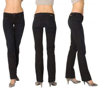 Womens Ladies Lofli USA Denim Jeans Navy Emma Straight Leg 82042 RRP