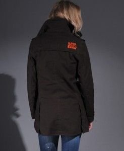 New Womens SUPERDRY Jermyn St Trench Coat Jacket