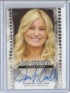 Razor Pop Century 2011 Jennifer Coolidge Auto Autograph