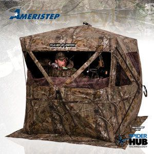 Ameristep Carnivore Ground Blind Realtree AP Camo 3286