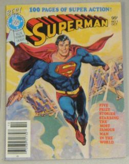 of DC Blue Ribbon Digest #1. Murphy Anderson, Curt Swan, Jerry Siegel