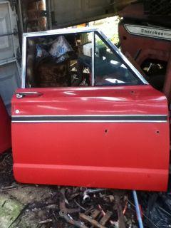 1987 Jeep J10 Wagoneer Grand Wagoneer J20 Cherokee Passenger Side Door