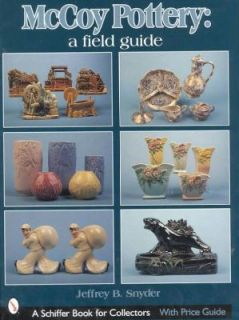 McCoy Pottery ID$ Book Cookie Jars Vases Planters Etc