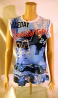 NASCAR Jeff Gordon Ladies Car Racing Tank Top