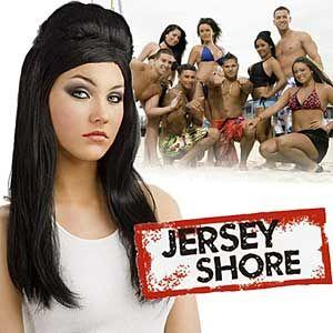 Jersey Shore snookie Snooki Snooky Halloween Costume Wig New