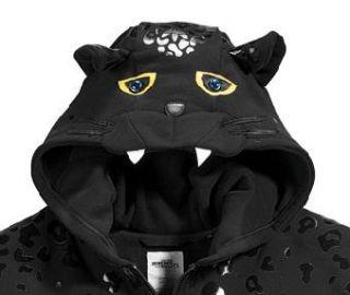 Adidas Jeremy Scott Leopard Hoodie Fleece Jacket RARE M