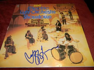 Electric Light Orchestra ELO Jeff Lynne Richard Tandy Signed LP