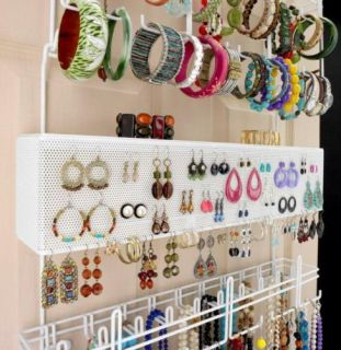 Longstem 5253 Door Wall 300 piece Jewelry Organizer Patented Rated