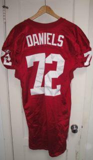 Arizona Cardinals Jerome Daniels Game Used Worn NFL Football Rookie