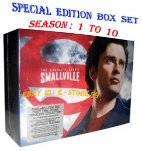 Smallville ♦ Complete Series Box Set Season 1 10 and More