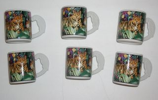Sakura Vitromaster Rain Forest Mugs China Dinnerware Sue Zipken
