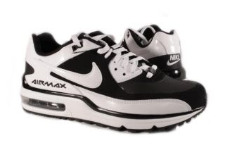 Nike Black White Air Max Wright Sneakers Mens Shoes Medium Width
